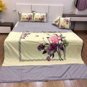 chăn drap gối cotton satin