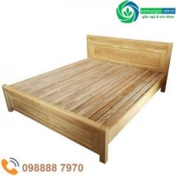 Giường Ngủ Gỗ Sồi Nga Giá Rẻ 7