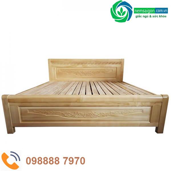 Giường Ngủ Gỗ Sồi Nga Giá Rẻ 8