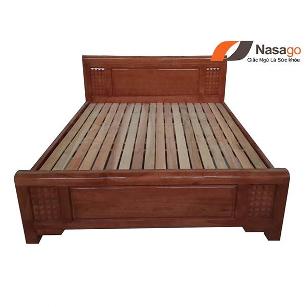 Giường Ngủ Gỗ Xoan Đào Giá Rẻ 6