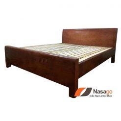 Giường Ngủ Gỗ Xoan Đào Giá Rẻ 4