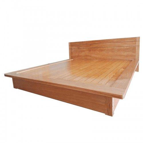 giường ngủ nhật gỗ đinh hương