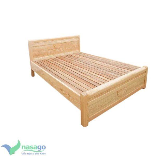 Giường Ngủ Gỗ Sồi Nga Đẹp Giá Rẻ