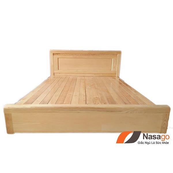 giường ngủ gỗ sồi vạt phản