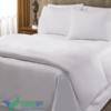 Bộ Chăn Drap Gối khách sạn trắng trơn